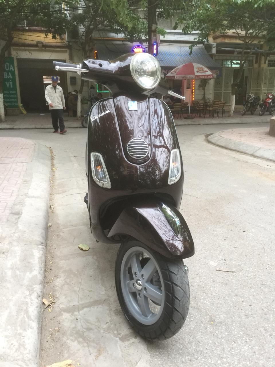 Ban Vespa Lx 125ie 2012 Nau tim chinh chu dung nguyen ban 27tr - 4