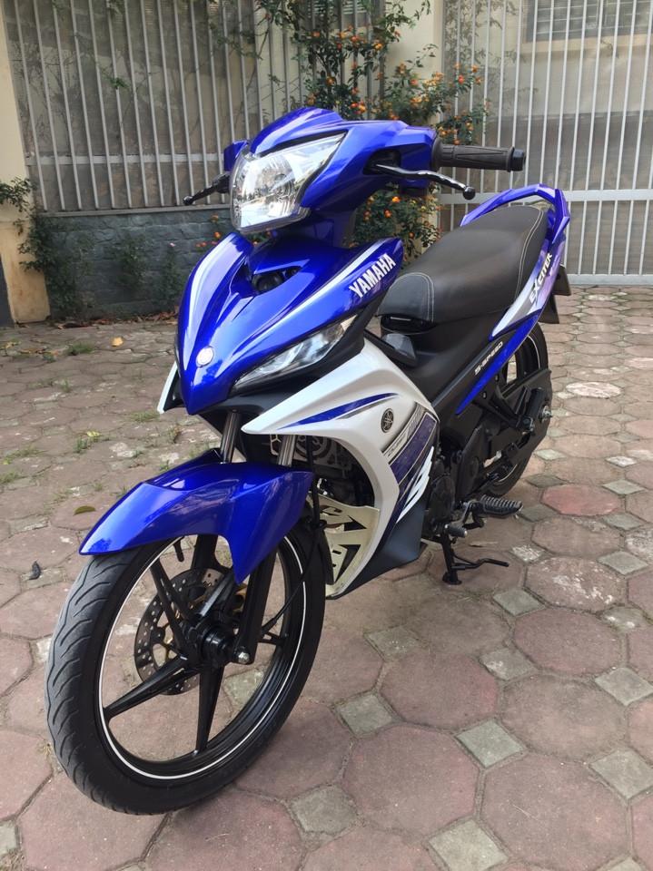 Ban Yamaha Exciter135 GP 2015 xanh trang 29Y chinh chu 25tr800 nguyen ban - 5