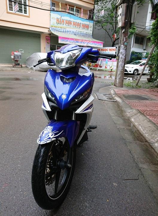 Ban Yamaha Exciter135 GP 2015 xanh trang 29Z chinh chu 25tr800 nguyen ban