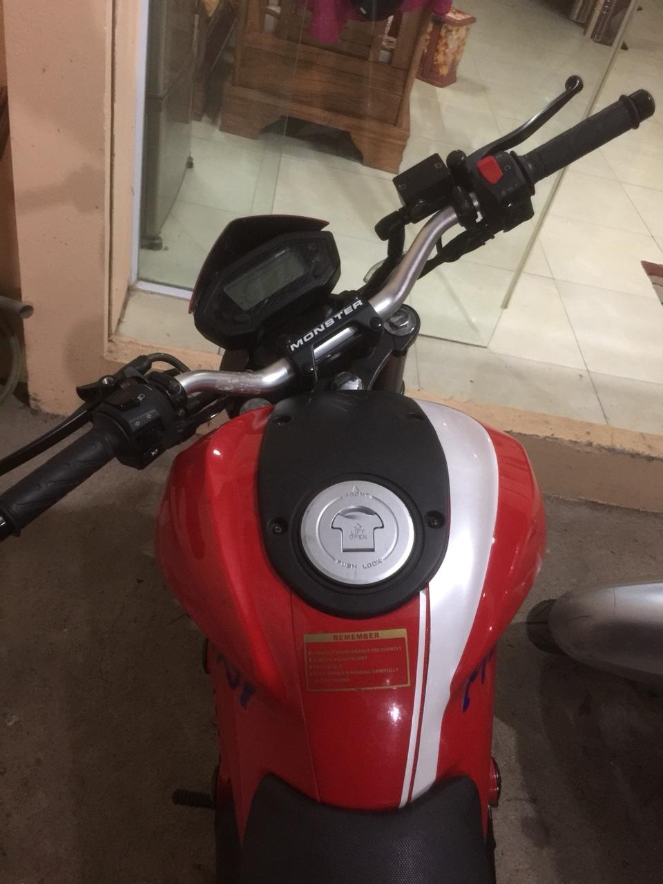 Ban YMH Ducati mini nhap Thai lan 2018 moi nguyen di dc 1500km chinh chu - 3