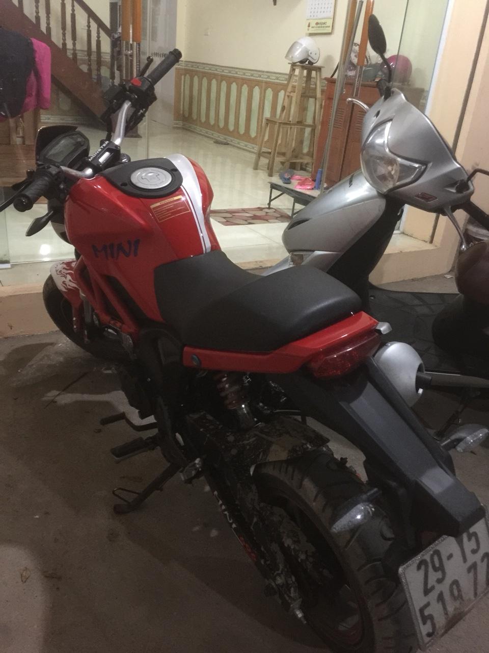 Ban YMH Ducati mini nhap Thai lan 2018 moi nguyen di dc 1500km chinh chu - 5