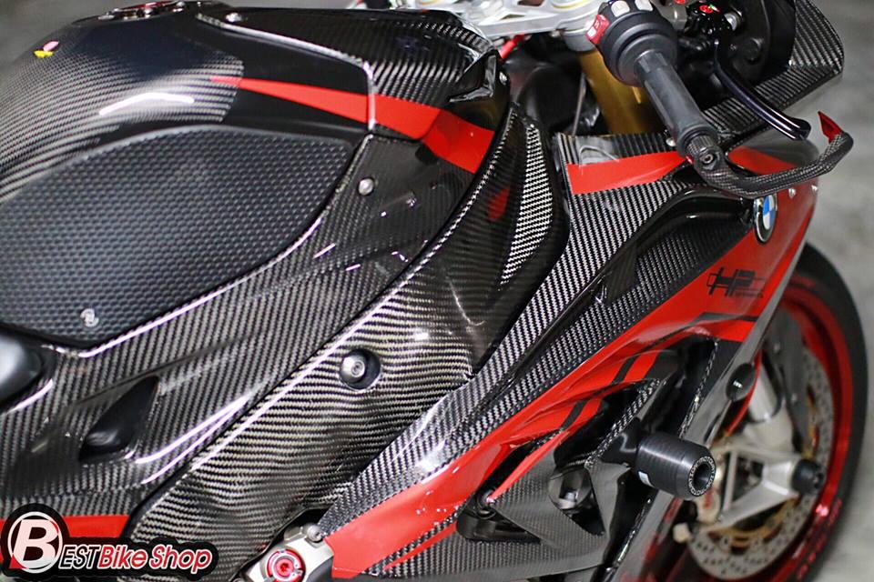 BMW S1000RR ve dep tuyet sac ben cong nghe Carbon - 6