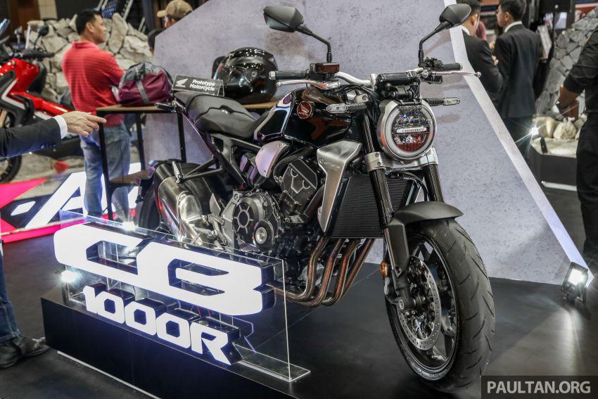 Chi tiet Honda CB1000R tai trien lam Autoshow Malaysia 2018