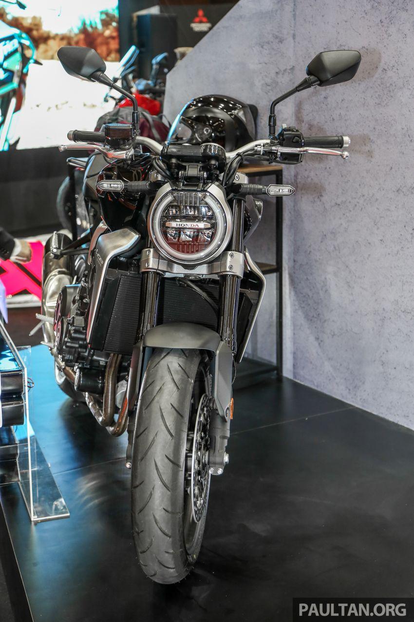 Chi tiet Honda CB1000R tai trien lam Autoshow Malaysia 2018 - 3