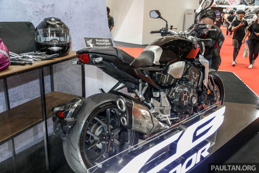 Chi tiet Honda CB1000R tai trien lam Autoshow Malaysia 2018 - 17