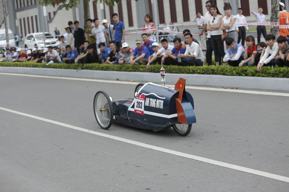 Chung ket cuoc thi Lai xe sinh thai Tiet kiem nhien lieu Honda 2018 - 3