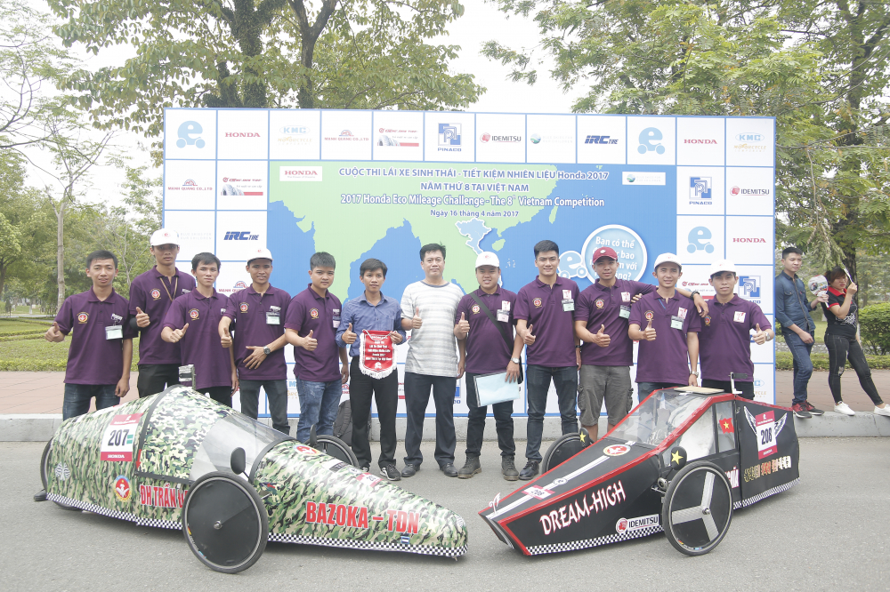Chung ket cuoc thi Lai xe sinh thai Tiet kiem nhien lieu Honda 2018 - 4