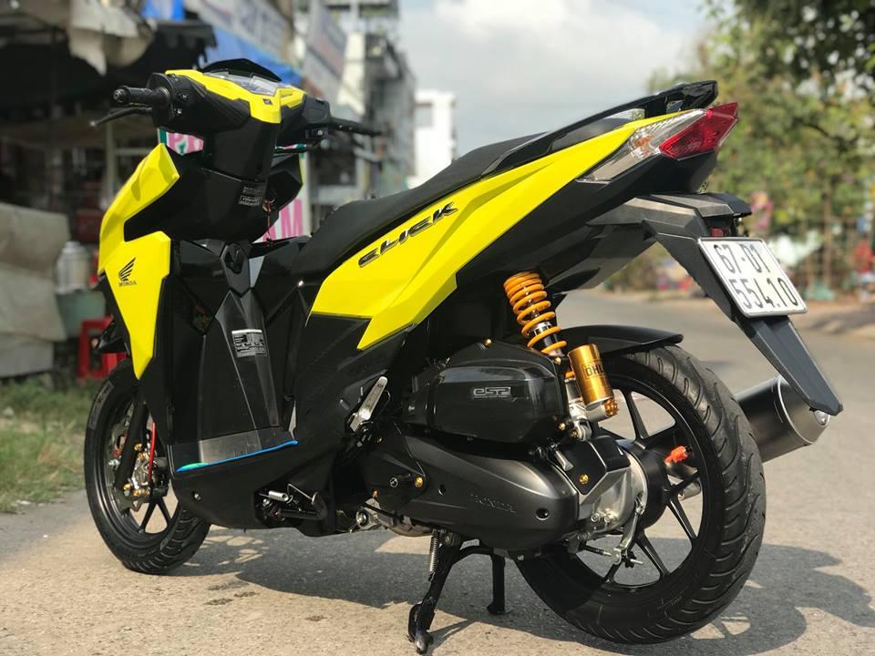 Click 125 do mang tone mau vang sporty noi bat cua biker An Giang - 6
