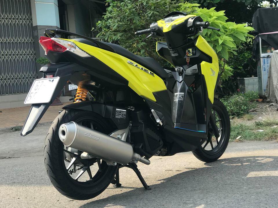 Click 125 do mang tone mau vang sporty noi bat cua biker An Giang - 8