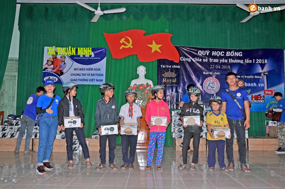 Club Exciter Ham Thuan Bac voi hanh trinh Cung chia se trao yeu thuong lan I - 17