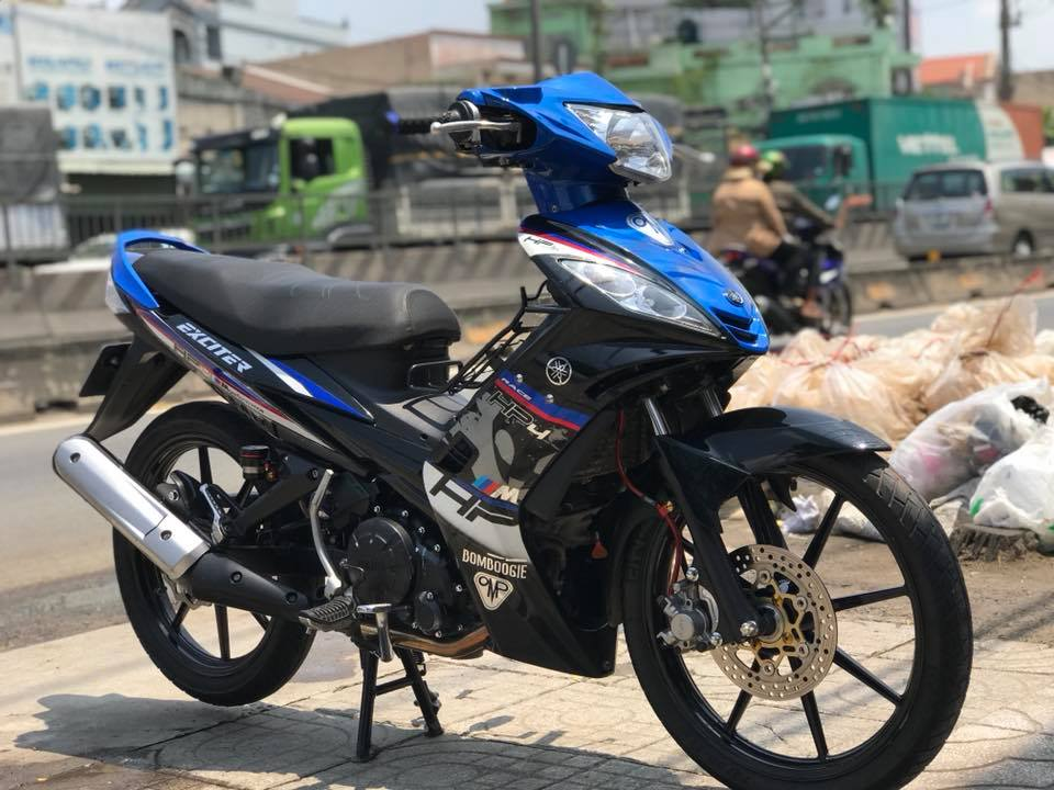 Exciter 135 do phong cach tem Hp4 BMW day lich lam