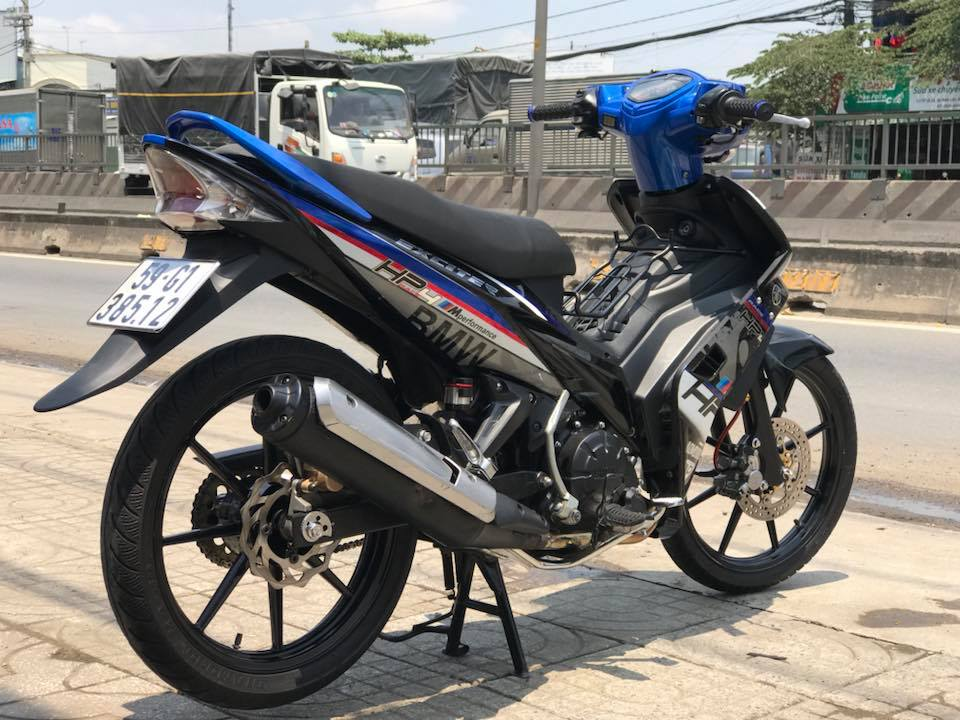 Exciter 135 do phong cach tem Hp4 BMW day lich lam - 6