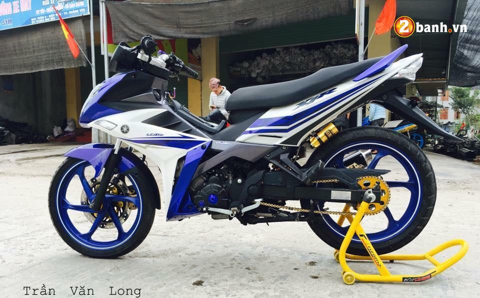 Exciter 135 do su an than hoan hao trong bo giap Yamaha X1R - 3