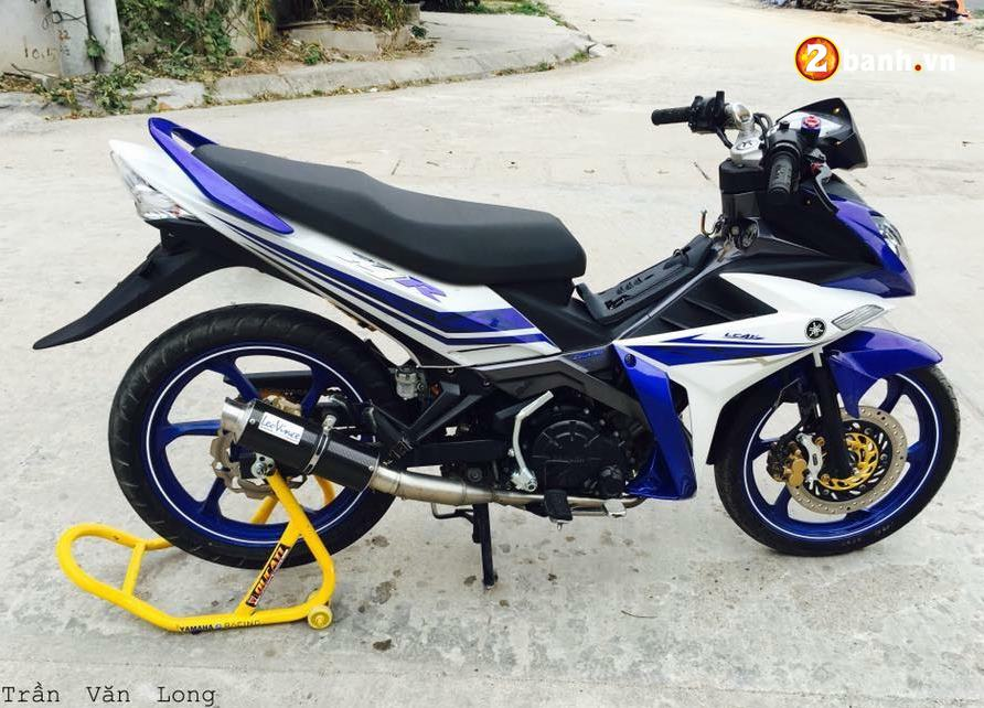 Exciter 135 do su an than hoan hao trong bo giap Yamaha X1R - 7