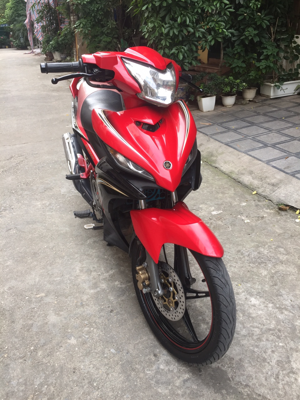 Exciter 135RC con tay 2012 do chinh chu may chat luong 22tr800 - 5