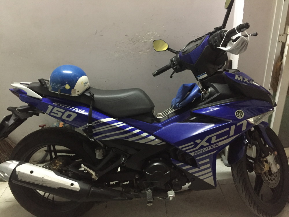 Exciter 150 DK 122015 xanh GP can giao luu Airblade