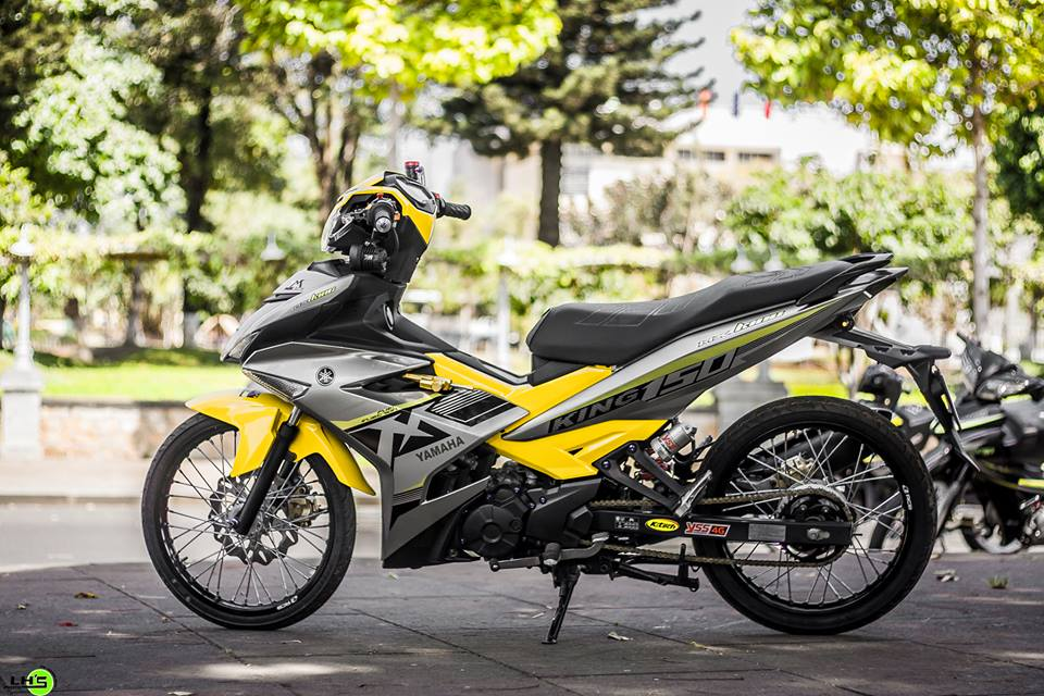 Exciter 150 do gay me nguoi xem trong version 2018 cua biker pho nui - 3