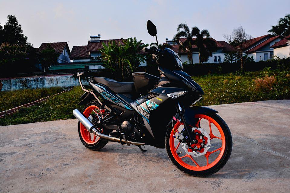 Exciter 150 do tao net dep rieng voi phong cach Y15ZR cua biker Dong Nai - 3