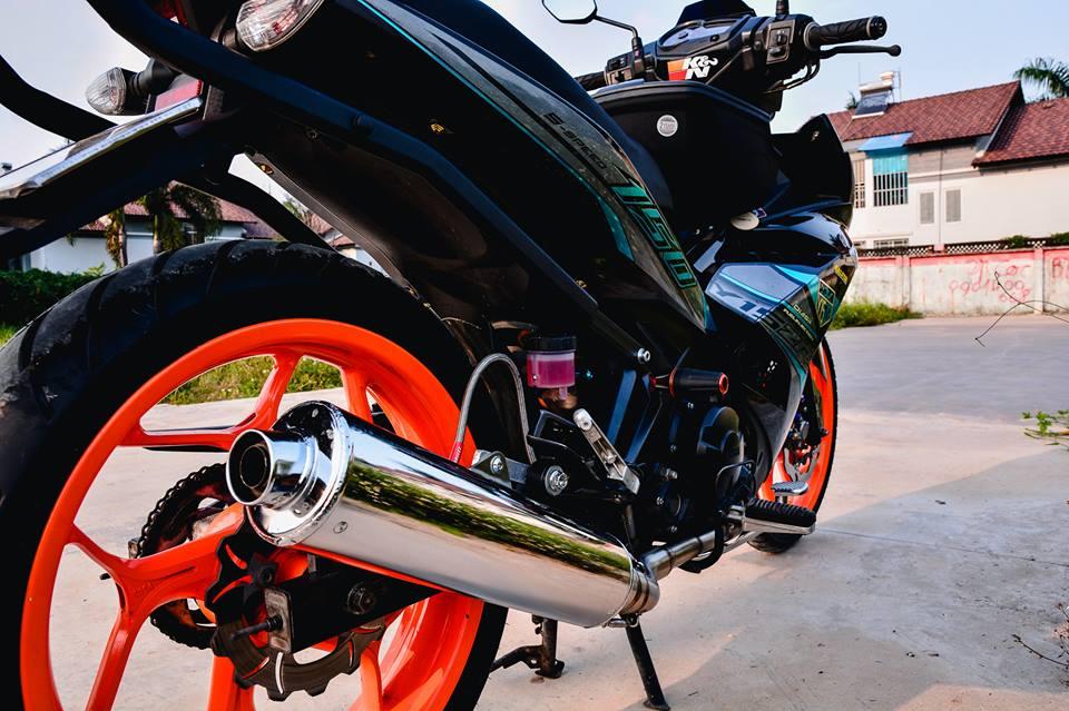 Exciter 150 do tao net dep rieng voi phong cach Y15ZR cua biker Dong Nai - 9