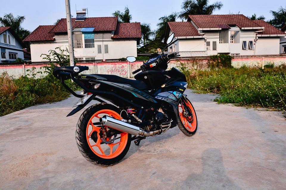 Exciter 150 do tao net dep rieng voi phong cach Y15ZR cua biker Dong Nai - 10