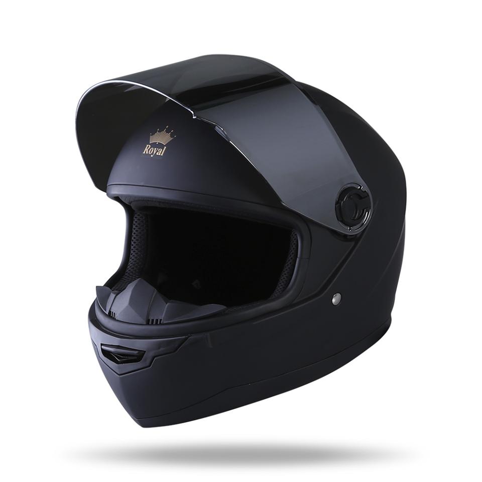Royal Helmet Ha Noi Mu fullface Royal M136 den nham noi bat trong cai nang mua he