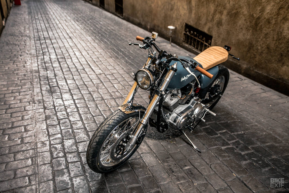 HARLEY SPORTSTER FortyEight ban do day tinh sang tao - 4