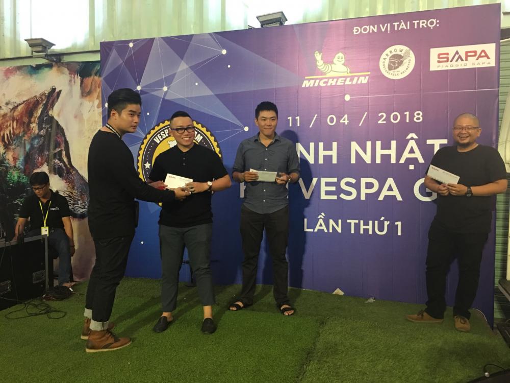 Sinh nhat lan 1 Hoi Vespa GTS GTV GT Viet Nam - 9