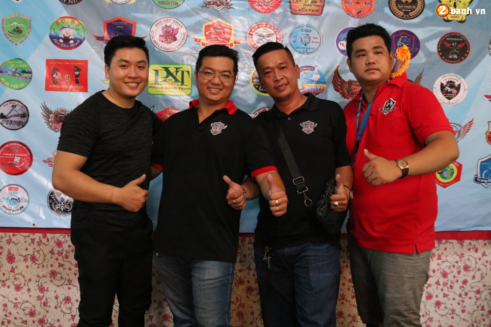 Hon 500 biker do ve Sai Gon mung Team Exciter Kien Vang tron I tuoi - 4