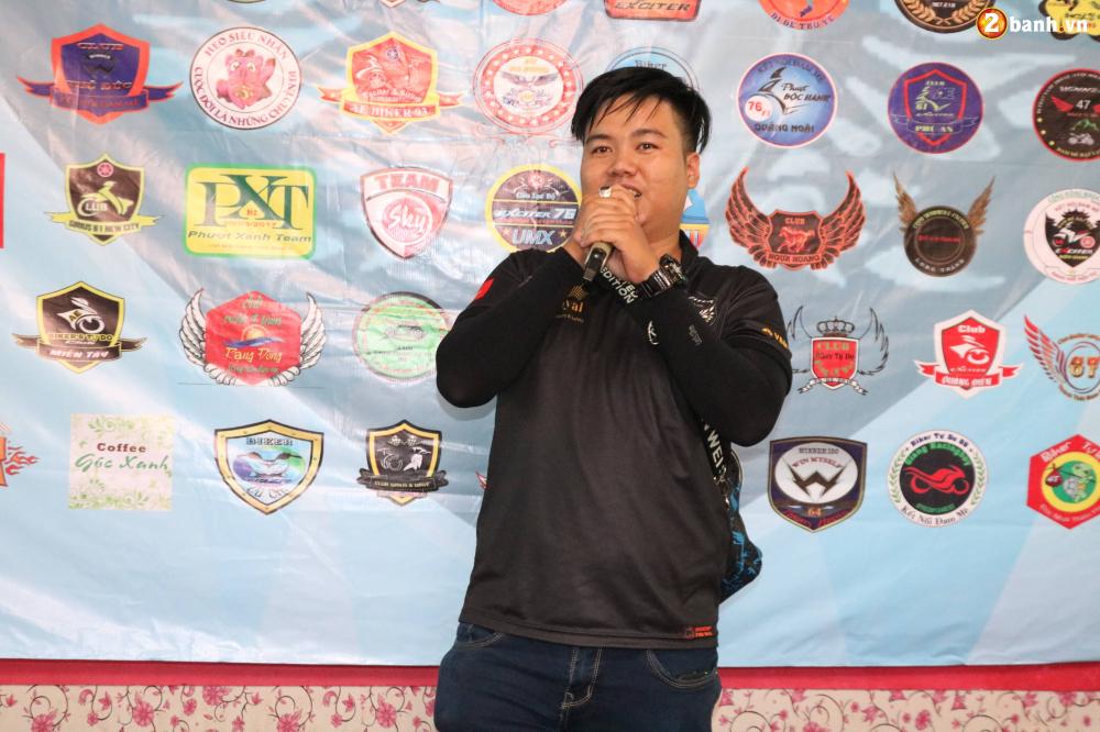 Hon 500 biker do ve Sai Gon mung Team Exciter Kien Vang tron I tuoi - 12
