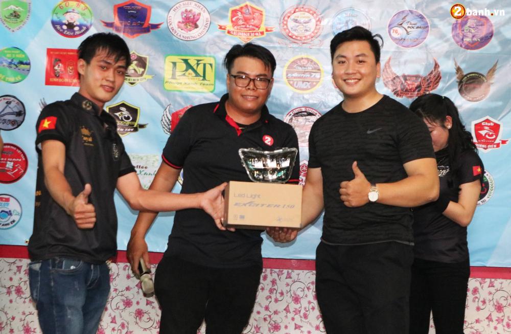Hon 500 biker do ve Sai Gon mung Team Exciter Kien Vang tron I tuoi - 28
