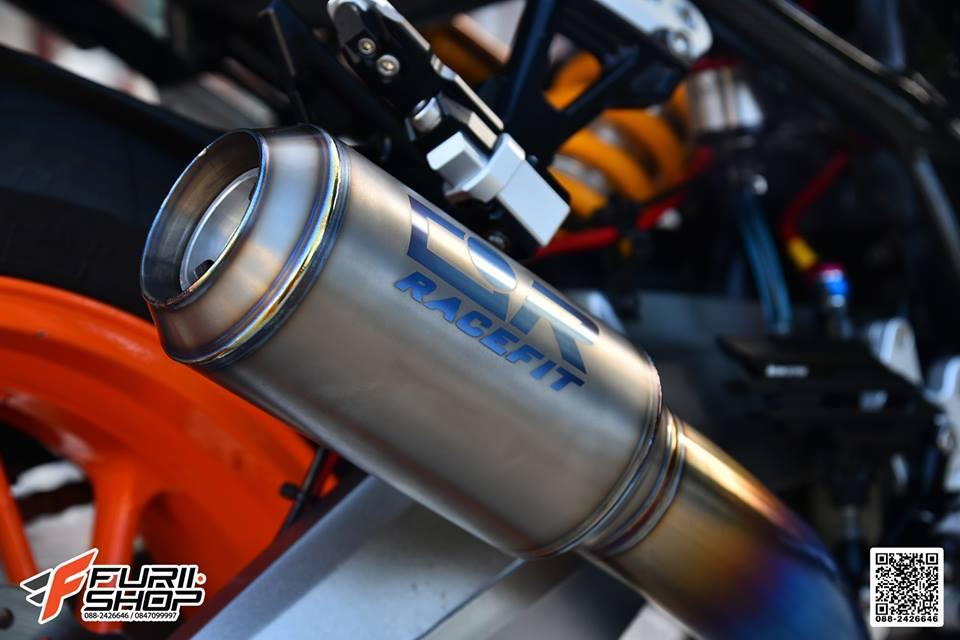 Honda CB650F dac sac qua tong mau cam loe loet - 14