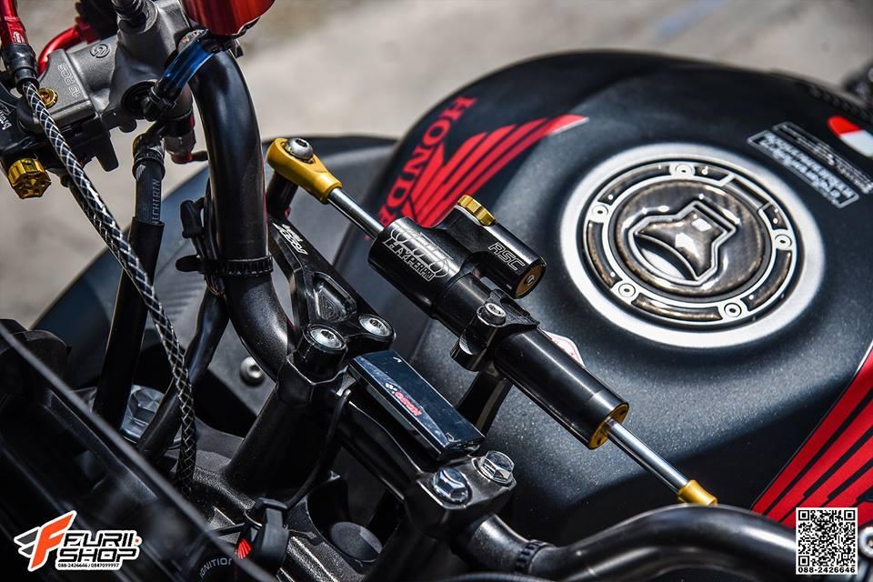 Honda CB650F do day cam hung voi dan ghidong da sac - 4