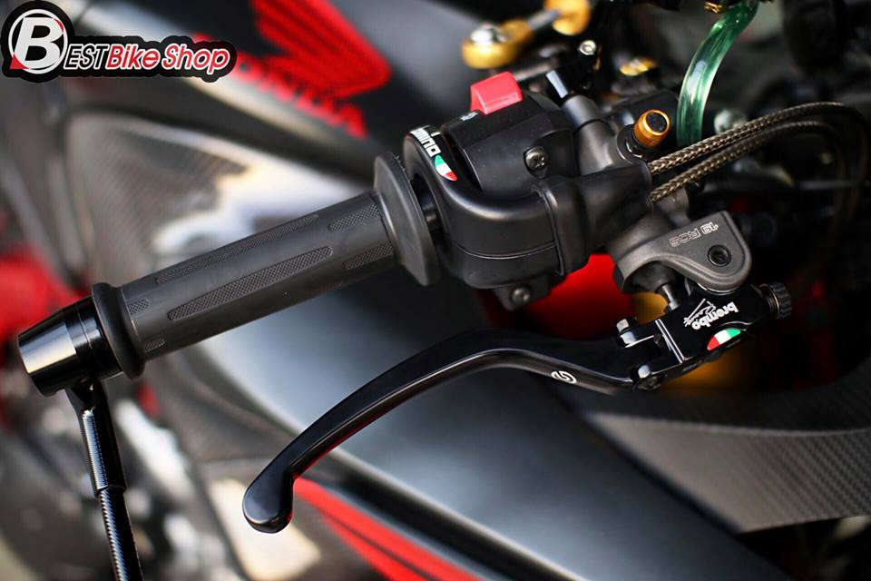 Honda CBR650F do day suc sang tao voi bo canh Matte Black - 6