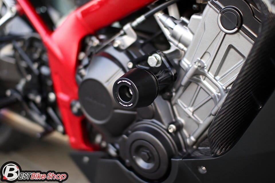 Honda CBR650F do day suc sang tao voi bo canh Matte Black - 16