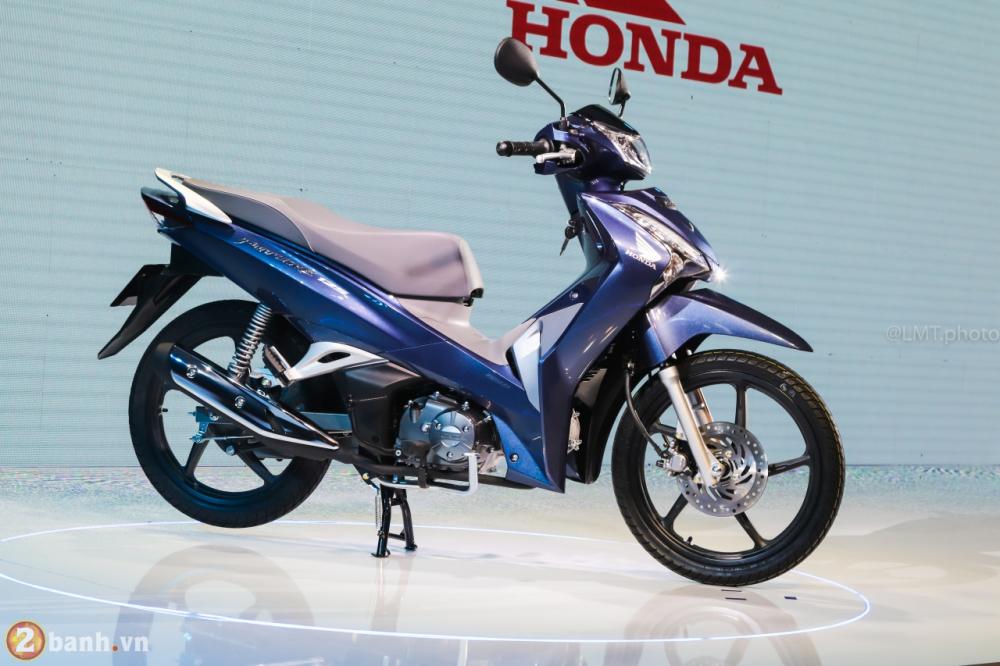 Honda Future 125 2018 the he moi thiet ke moi dong co nang cap gia tu 30190000 Dong