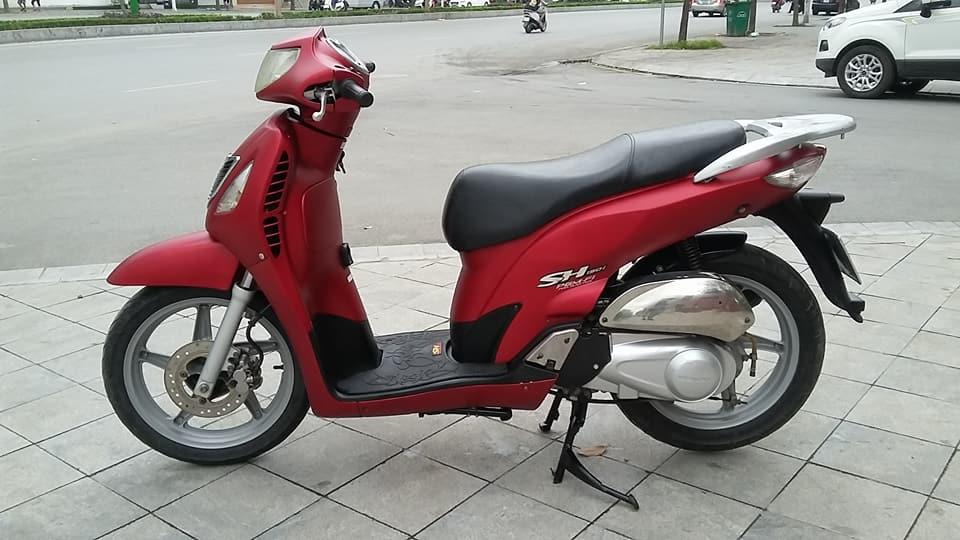 Honda SH 150i mau do san thoi trang bien ha noi - 2