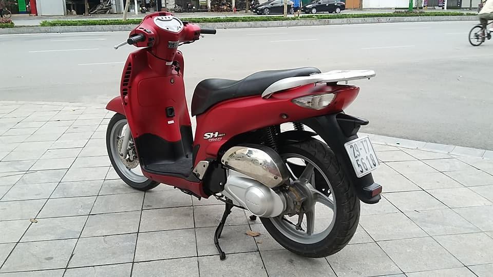 Honda SH 150i mau do san thoi trang bien ha noi - 3