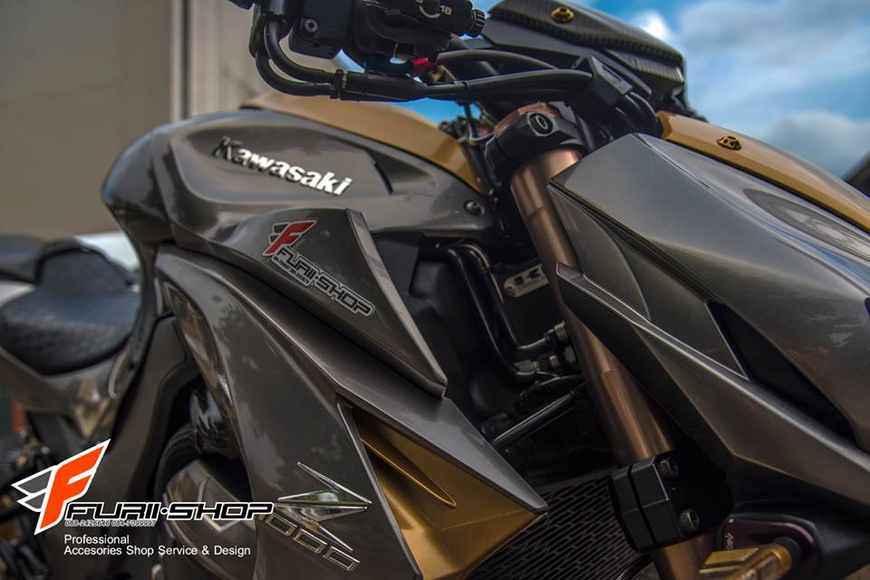 Kawasaki Z1000 ban do chat nhu nuoc cat den tu Thai - 9