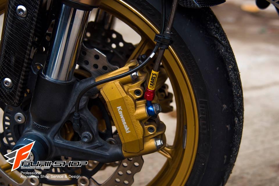 Kawasaki Z1000 ban do chat nhu nuoc cat den tu Thai - 14