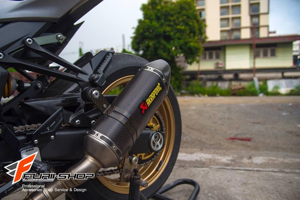 Kawasaki Z1000 ban do chat nhu nuoc cat den tu Thai - 16