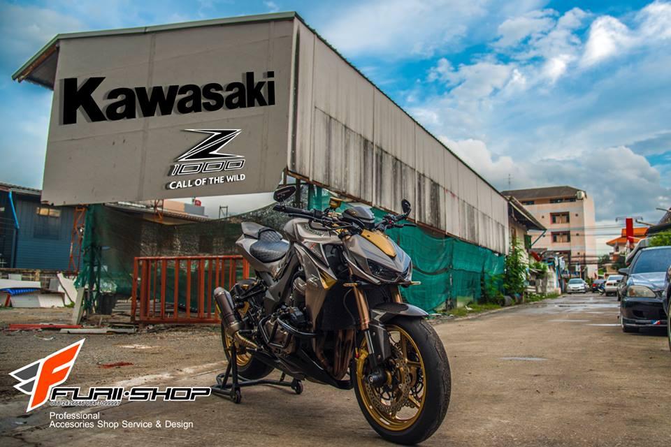 Kawasaki Z1000 ban do chat nhu nuoc cat den tu Thai - 20