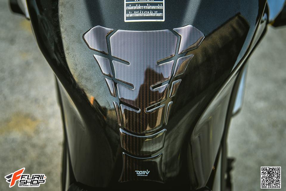 Kawasaki Z300 dep lich lam ben tong mau Silverred - 8