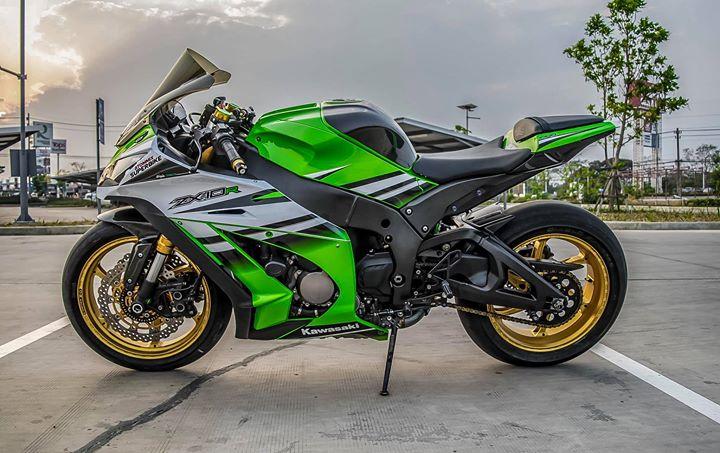 Kawasaki ZX10R sieu mo to do ca tinh ben dan chan hang hieu - 17