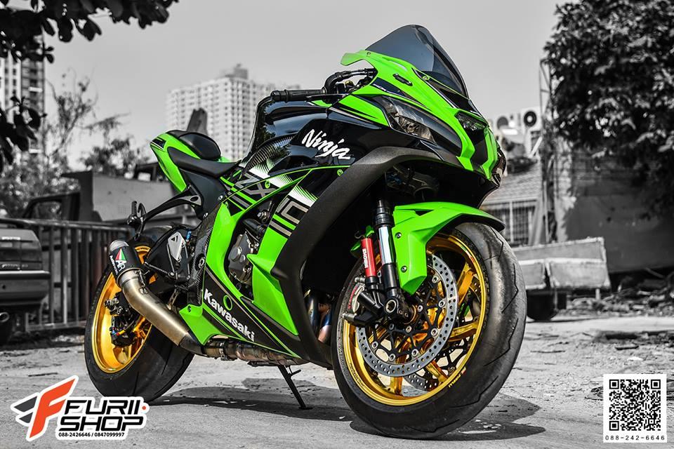 Kawasaki ZX10R tao dang cuc ngau ben dan chan Marchesini