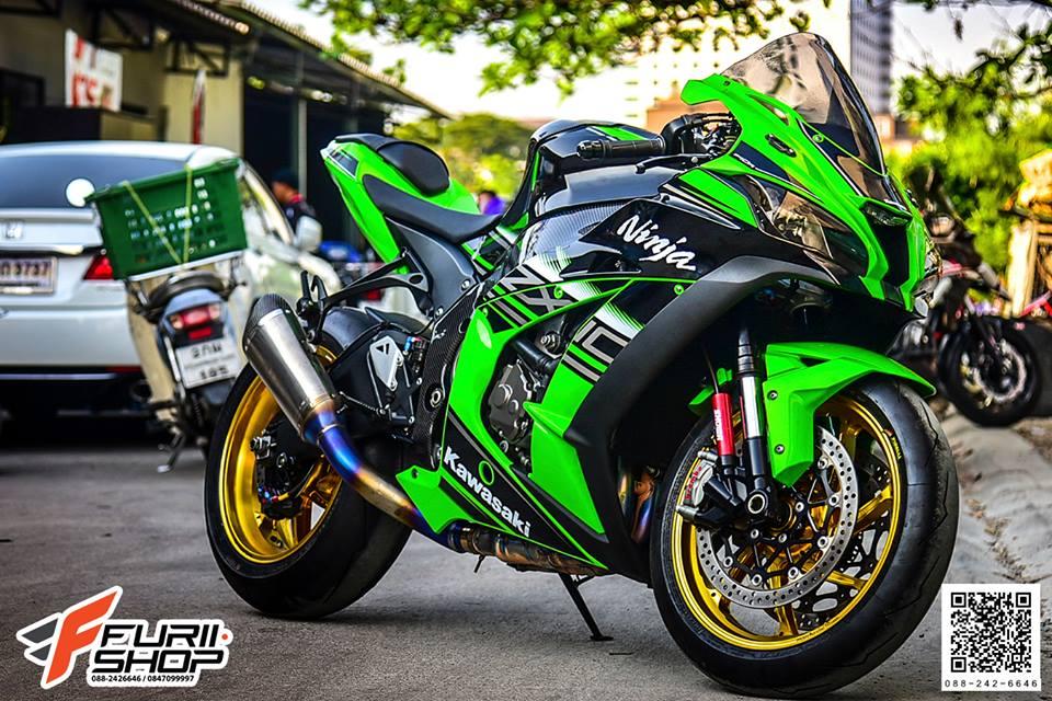 Kawasaki ZX10R ve dep tuyet sac ben do choi cao cap