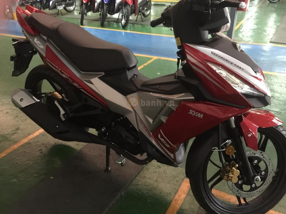 Lo thong tin SYM VF3i 2018 se duoc ban tai Viet nam va khong can toi bang A2 - 3