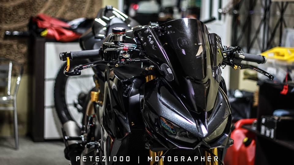Man nhan voi ban do Kawasaki Z1000 trang bi tan rang - 4