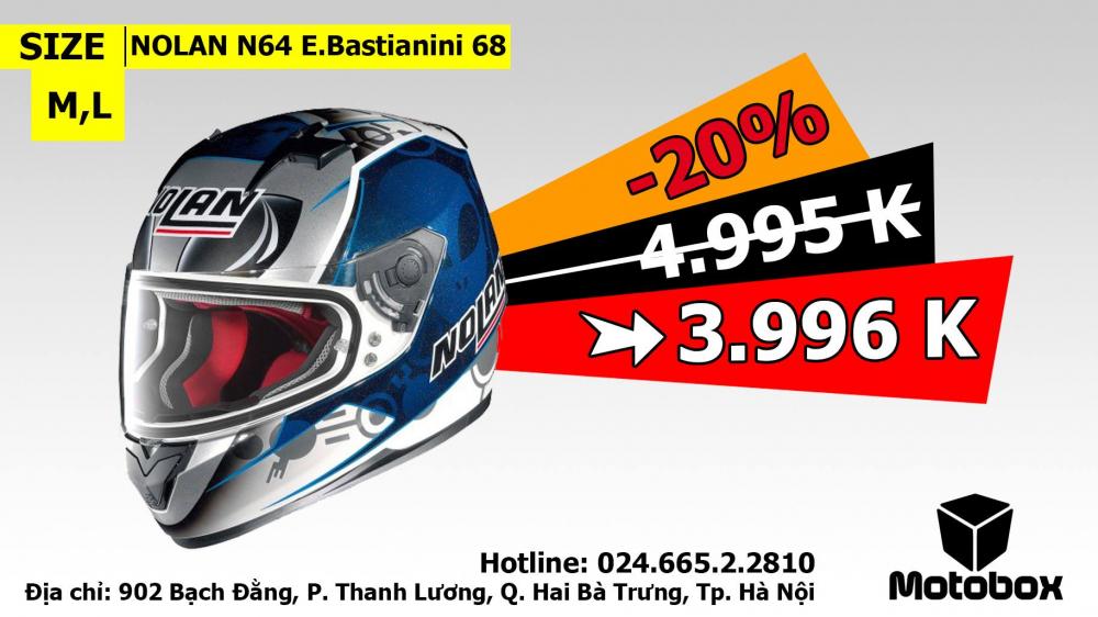 Moto299 Mu bao hiem Nolan N64 tai Ha Noi - 2
