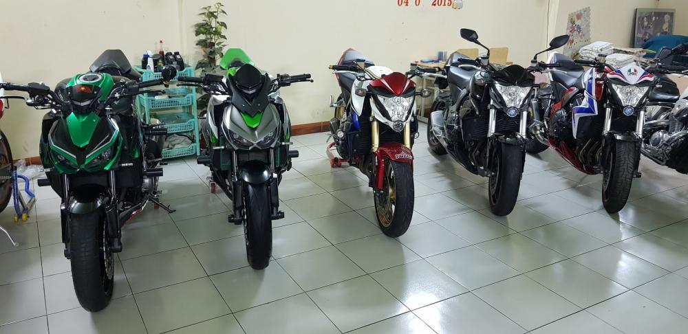 Ban Honda CB1000RA va Kawasaki Z1000