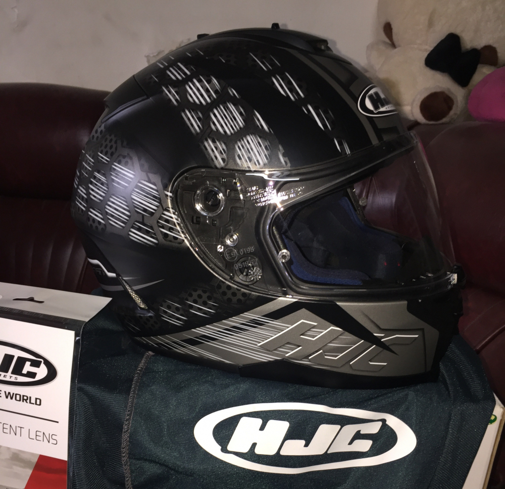 Non HJC IS17 Enver size L full box hop non bao vai pinlock